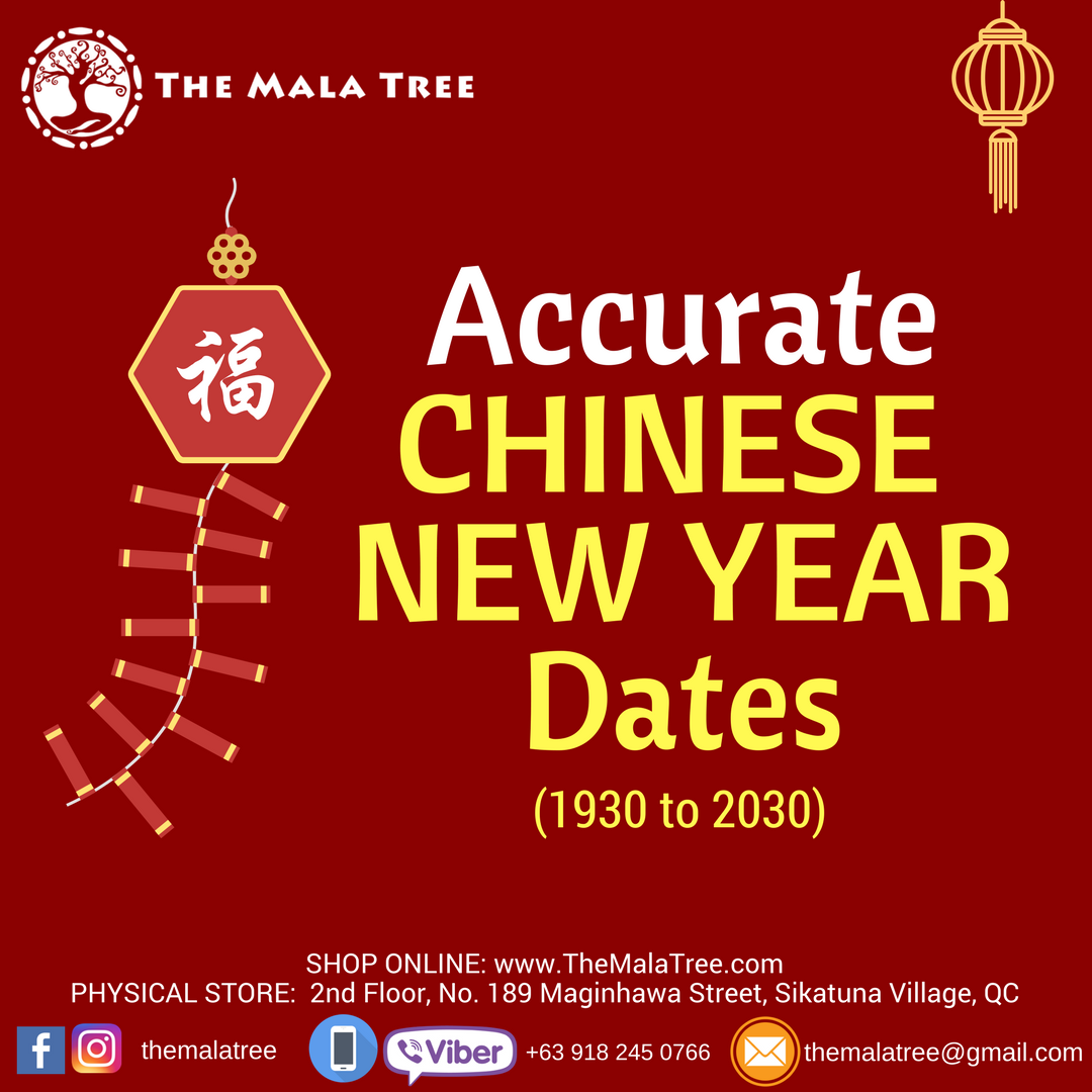 chinese new year dates 1930 to 2030 - Chinese New Year Dates